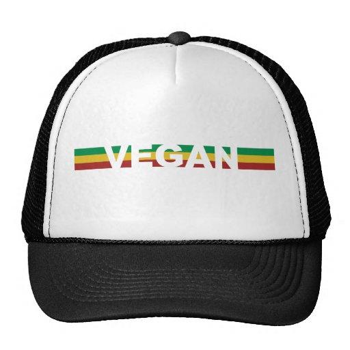El vegano raya Rasta Gorras