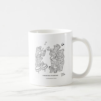 El vendaje taza de café