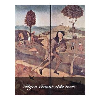 El vendedor ambulante Por Hieronymus Bosch la me Tarjeton