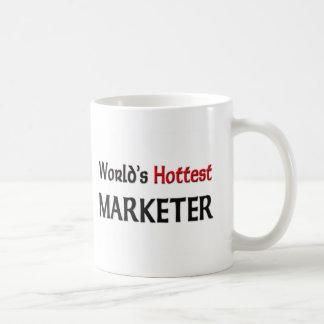 El vendedor más caliente de los mundos taza de café