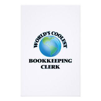 El vendedor más fresco de la contabilidad del  papeleria