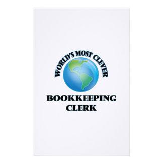 El vendedor más listo de la contabilidad del mundo papelería