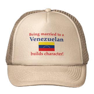 El venezolano construye el carácter gorras de camionero