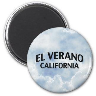 EL Verano California Imán De Frigorifico