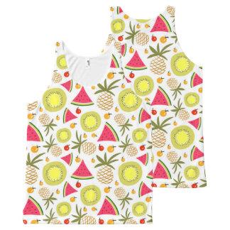 El verano da fruto las camisetas sin mangas unisex