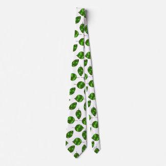 El verano deja a hoja verde ajustable el modelo corbatas personalizadas