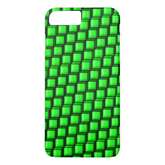 El verde ajusta el caso más del iPhone 7 de Barely Funda iPhone 7 Plus