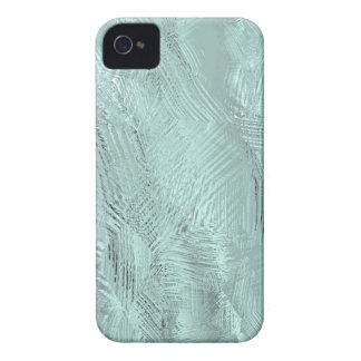 El verde azul grabó al agua fuerte la casamata de  iPhone 4 cobertura