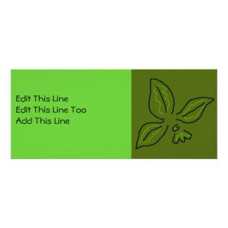 El verde de la flor de lis del estilo de Matisse,  Comunicado Personalizado