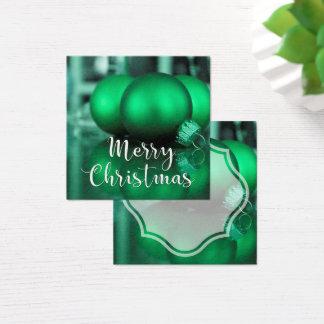 El verde de las Felices Navidad entonó la etiqueta