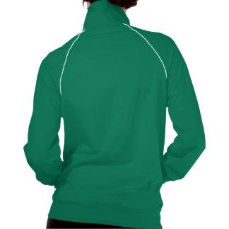El verde de las señoras del entrenamiento de ACTT  Chaqueta