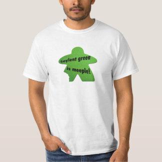El verde de Soylent es camiseta de Meeple