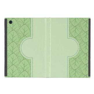 el verde deja el modelo iPad mini cárcasas