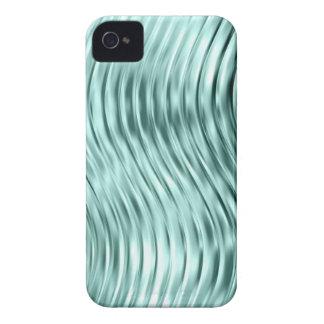 El verde del hielo curvó la casamata de cristal de iPhone 4 carcasas