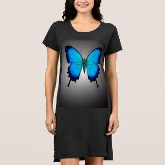 El vestido de la camisa de la mariposa de Papilio