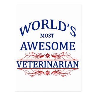 El veterinario más impresionante del mundo postal