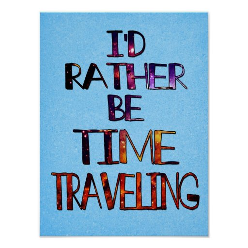 El viajar del tiempo posters