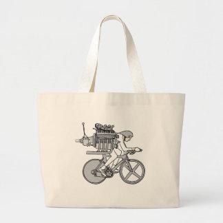 El viajar en automóvili de la bicicleta bolso de tela gigante