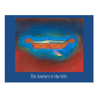 El viaje es la postal del regalo