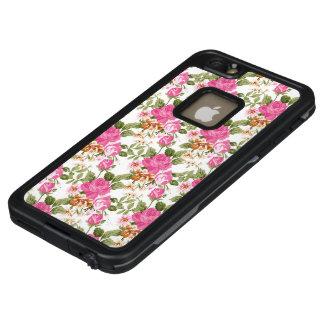 El Victorian rosado del vintage subió el iPhone