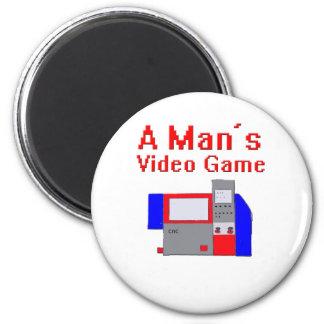 El videojuego del hombre imán de frigorifico