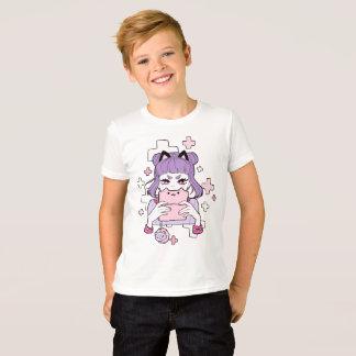 El videojugador Grrl embroma la camiseta
