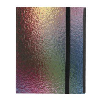 El vidrio tuerce (1 de 12) funda para iPad