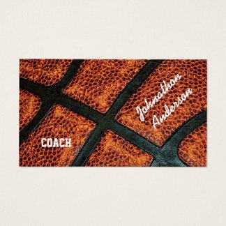 El viejo baloncesto retro dedicó al coche tarjeta de negocios