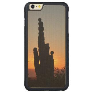 """""""El viejo """" Funda Para iPhone 6 Plus De Carved® De Nogal"""