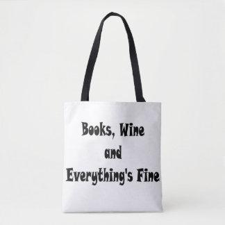 El vino de los libros todo es bolso fino