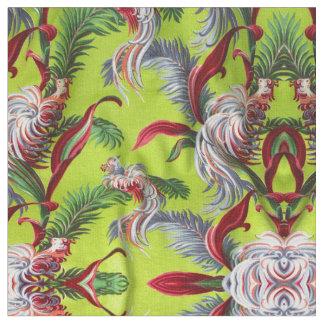 El vintage Barkcloth resumió la decoración de la Tela