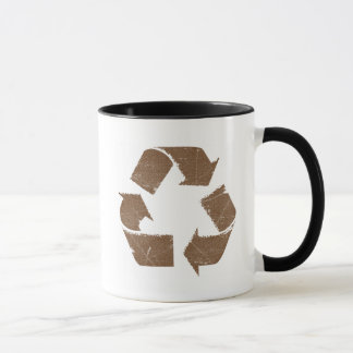 El vintage Brown recicla la muestra
