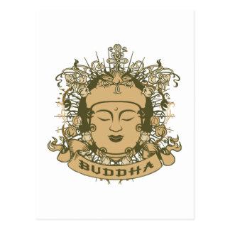 El vintage Buda hace frente Tarjeta Postal