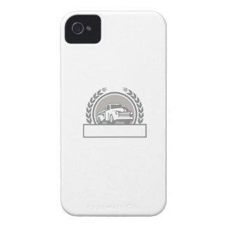 El vintage coge el círculo del camión retro funda para iPhone 4 de Case-Mate