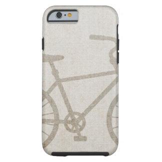 El vintage de la bici se divierte destino del amor funda para iPhone 6 tough