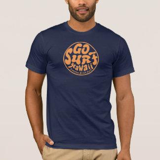 El vintage de los hombres VA camiseta de HAWAII de