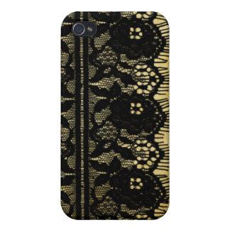 El vintage de PixDezines ata para arriba iPhone 4/4S Carcasas