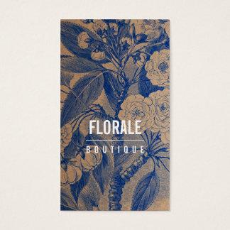 El vintage elegante moderno del papel marrón tarjeta de negocios
