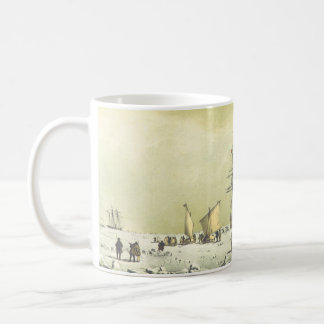 El vintage envía la taza