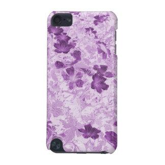 El vintage inspiró color de malva floral funda para iPod touch 5G