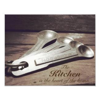 El vintage inspiró las cucharas dosificadoras de cojinete