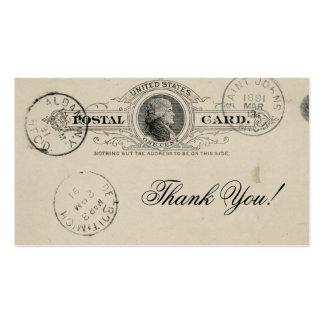 El vintage le agradece las tarjetas de visita de
