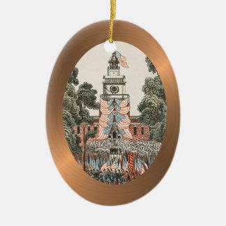El vintage patriótico los E.E.U.U. señala 1894 por Ornamento Para Arbol De Navidad