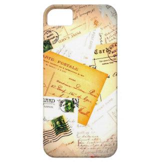 El vintage pone letras al caso del iPhone 5 iPhone 5 Case-Mate Carcasas