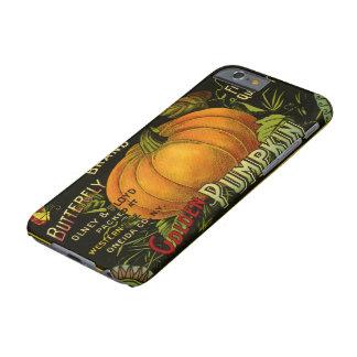 El vintage puede etiquetar el arte, verdura de la funda para iPhone 6 barely there