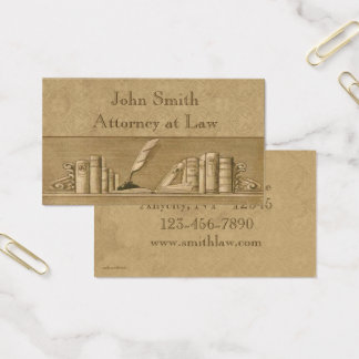 El vintage reserva la tarjeta de visita