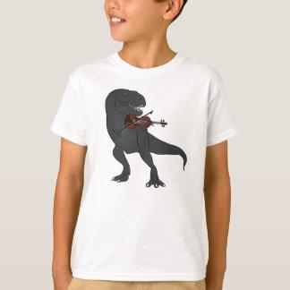 El violín de T-Rex embroma la camisa