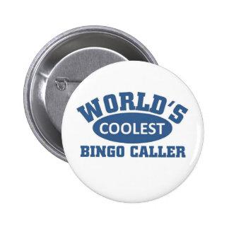 El visitante más fresco del bingo chapa redonda de 5 cm
