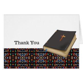 El vitral le agradece tarjeta de felicitación