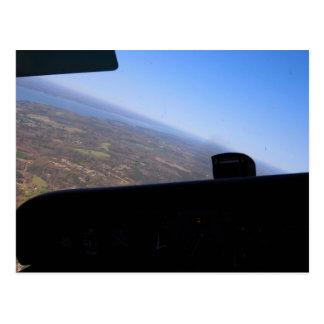 El volar postal
